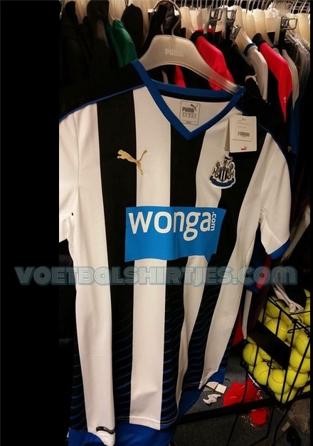 newcastle united home kit 15-16