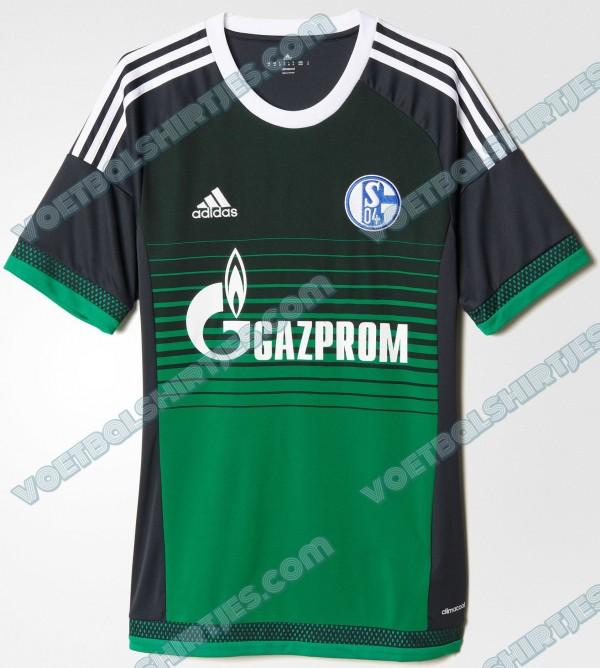 Schalke 04 third kit 15-16
