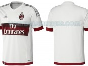 ac milan away kit 15 16