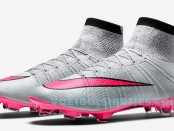 nike mercurial superfly wolf grey pink