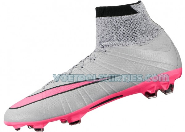 nike mercurial superfly FG Wolf Grey Hyperpink