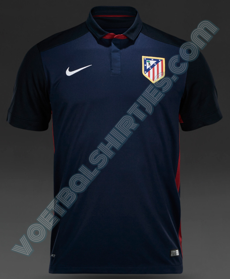Atletico Madrid uitshirt 2016