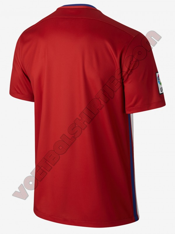 camiseta atletico de madrid 2016