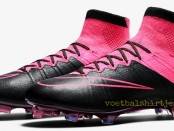 Nike Mercurial Superfly black pink leather