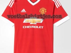 manchester united thuisshirt 2015 2016