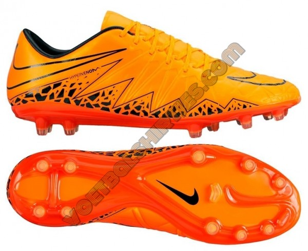 nike hypervenom phinish 2 total orange