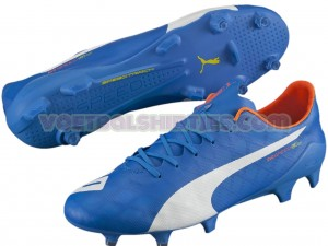puma evospeed SL electric blue