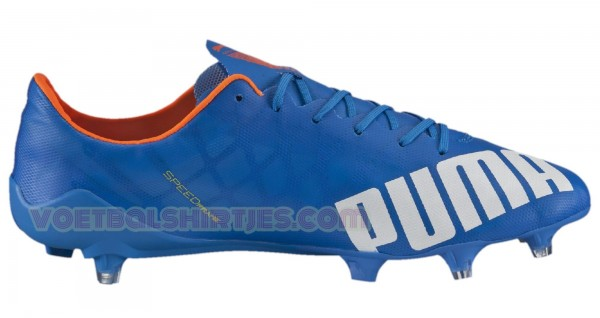 puma evospeed SL fg electric blue