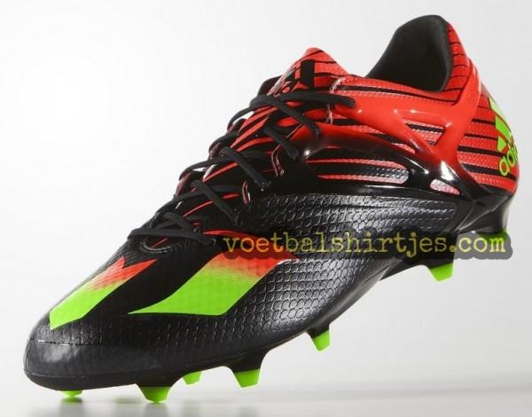 Adidas Messi 15.1 Core Black Messi voetbalschoenen 2016