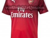 Arsenal 2016 pre-match top red