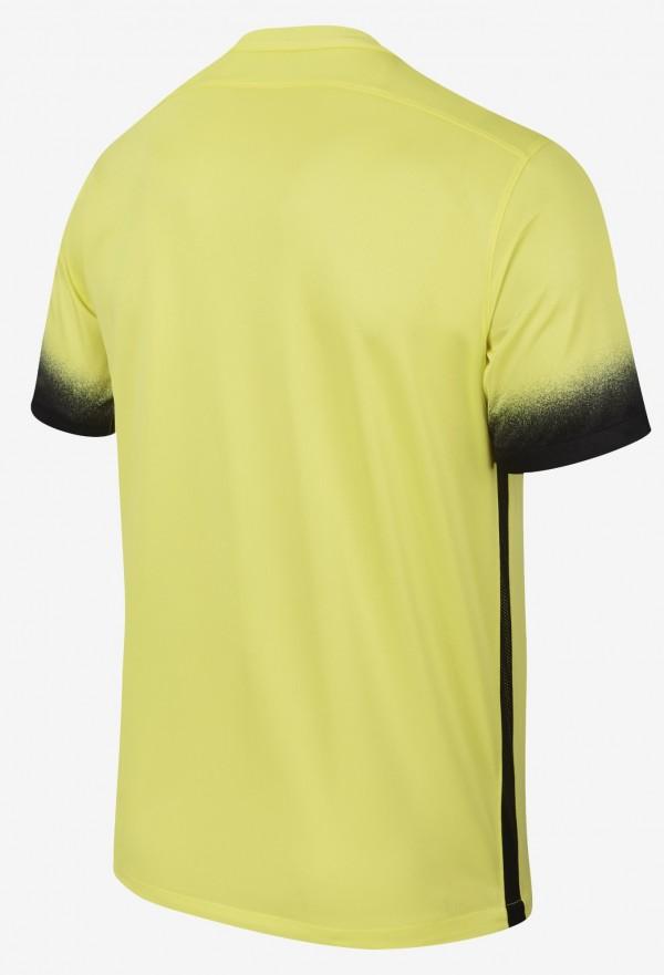 Inter uitshirt 2016 geel