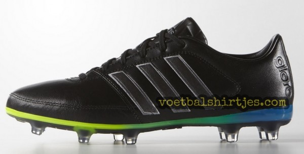 adidas Gloro 16.1 core black night metallic solar green