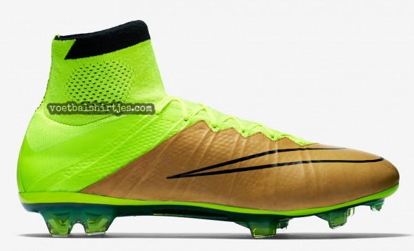 Nike Mercurial Superfly canvas-volt