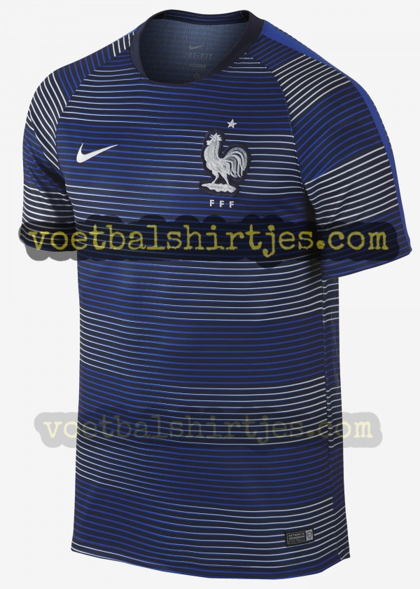 france euro 2016 pre match shirt