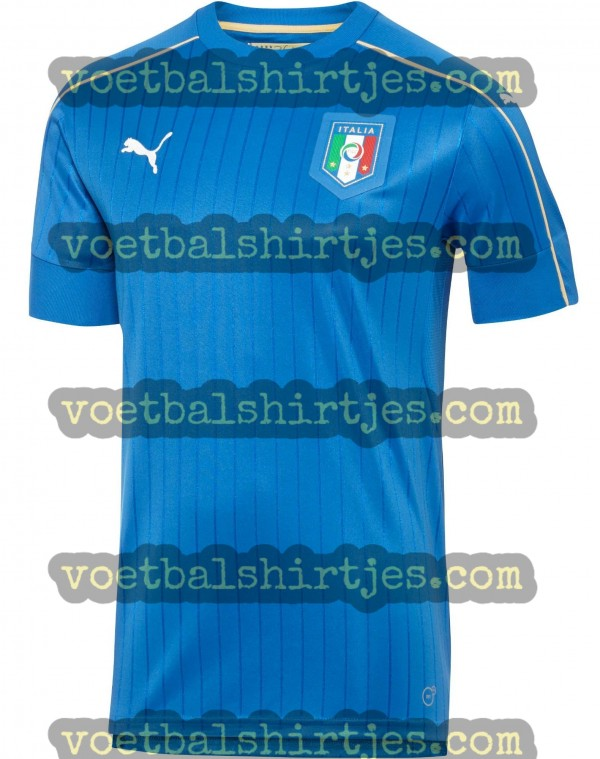 italie thuisshirt Euro 2016