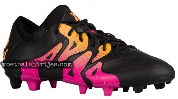 adidas X 15.1 Black Shock Pink solar Gold