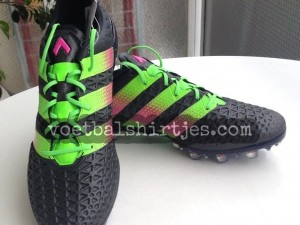 adidas ace 16.1 core black solar green shock pink