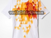 camiseta Espana visitante Euro 2016