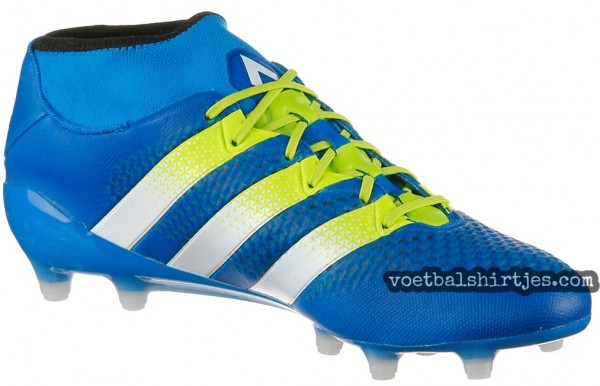 adidas ace 16+ primeknit shock blue