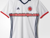 Colombia 16-17 home kit
