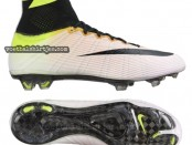 nike mercurial superfly WHITE BLACK-VOLT-TOTAL ORANGE