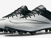 nike Mercurial Vapor X light bone black leather