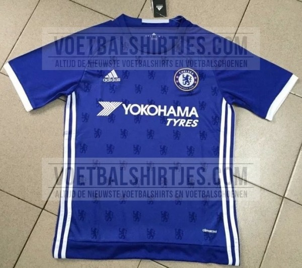 Leaked: Brand new pictures of Chelseas home & away shirts for 2016 17