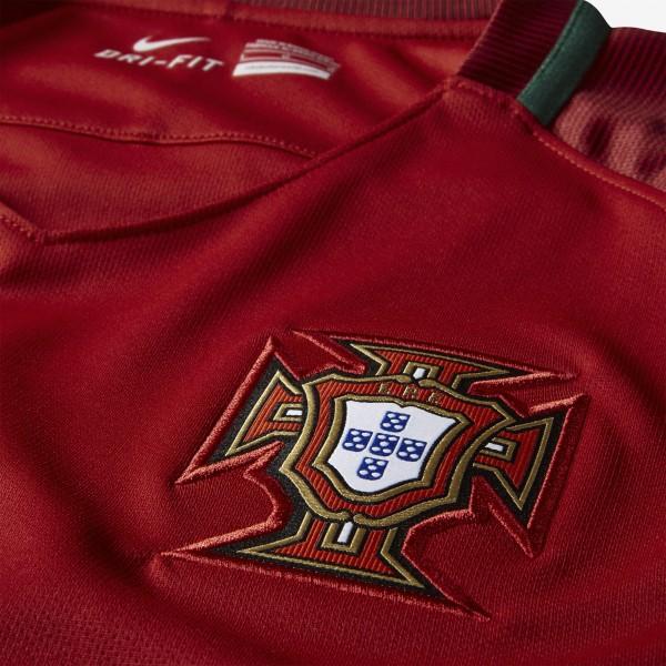 Portugal thuisshirt 16-17