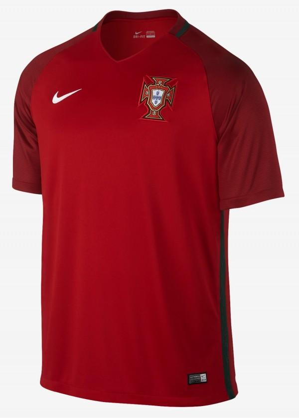 Portugal thuisshirt 2016-2017
