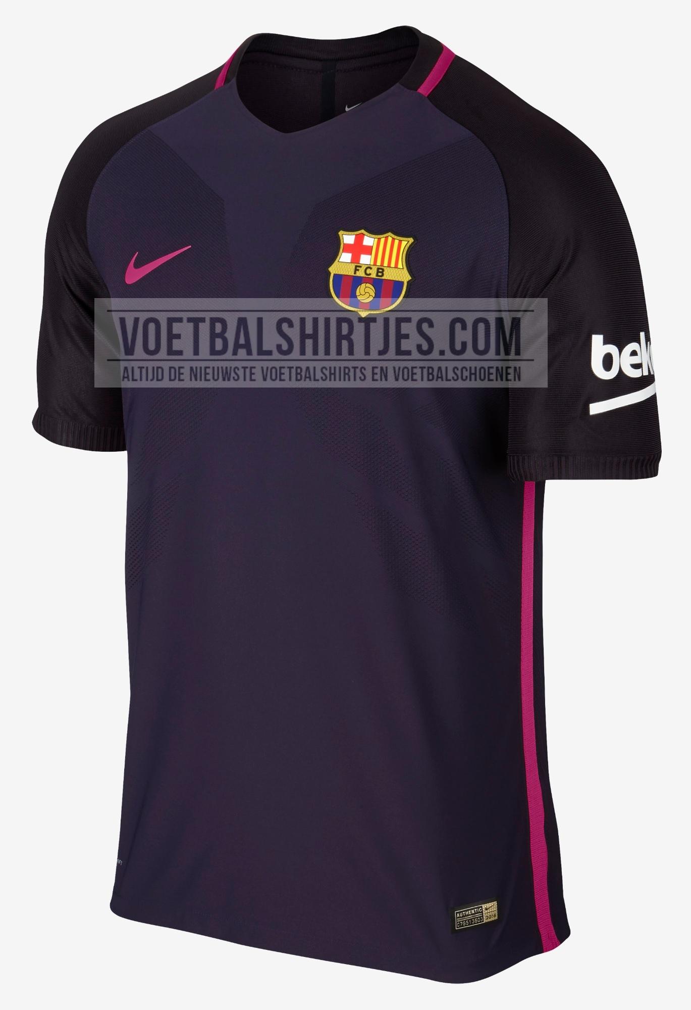 fc Barcelona uitshirt 2017