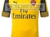 Arsenal uitshirt 2017