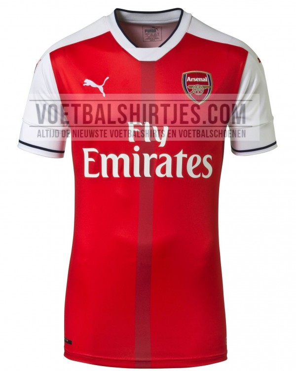 arsenal shirt 2017