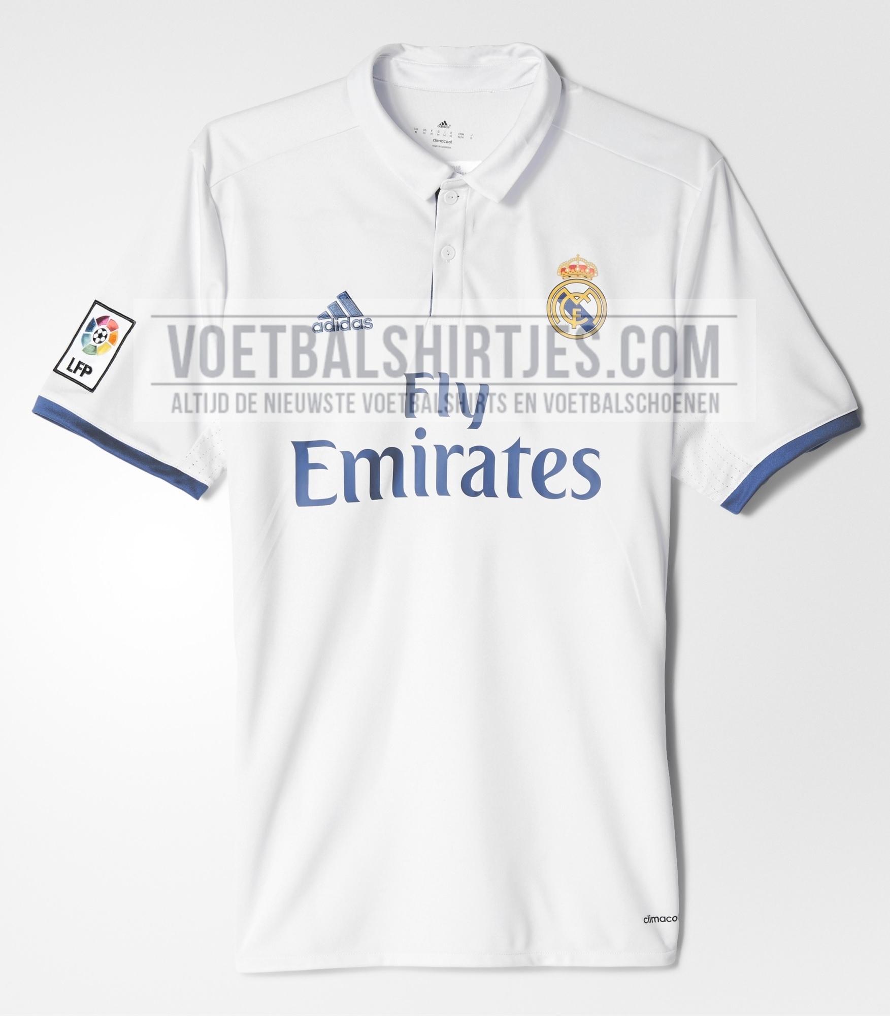 real madrid shirt 2017