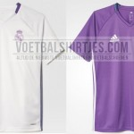 Real Madrid trainingsshirts 16-17