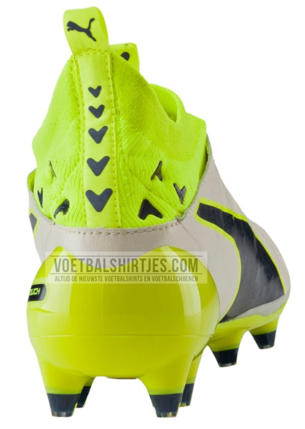 puma evotouch pro white safety orange