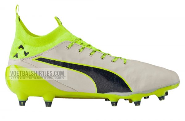 puma evotouch white safety yellow