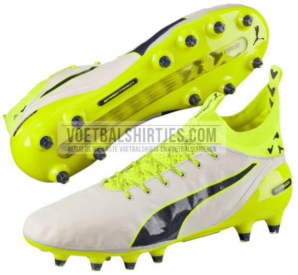 puma evotouch white_safety yellow