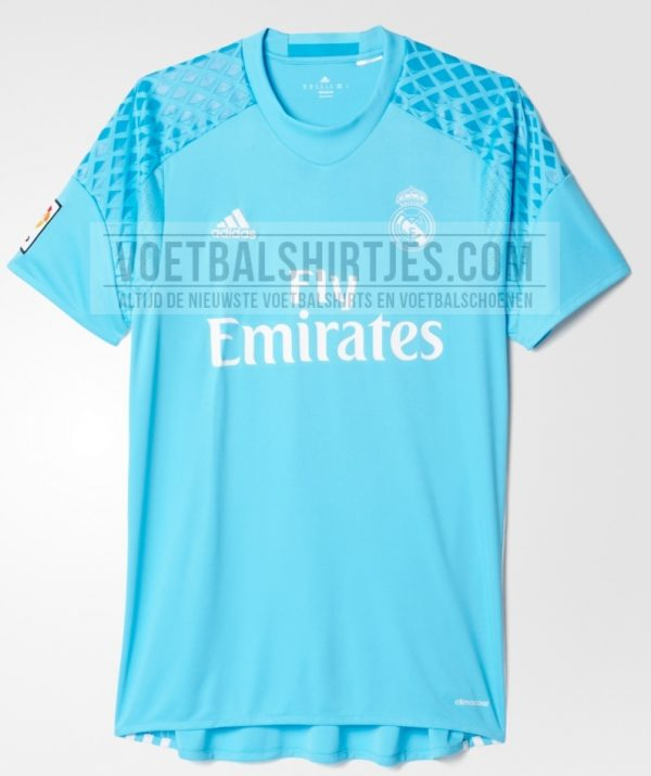 real madrid keepershirt 2017