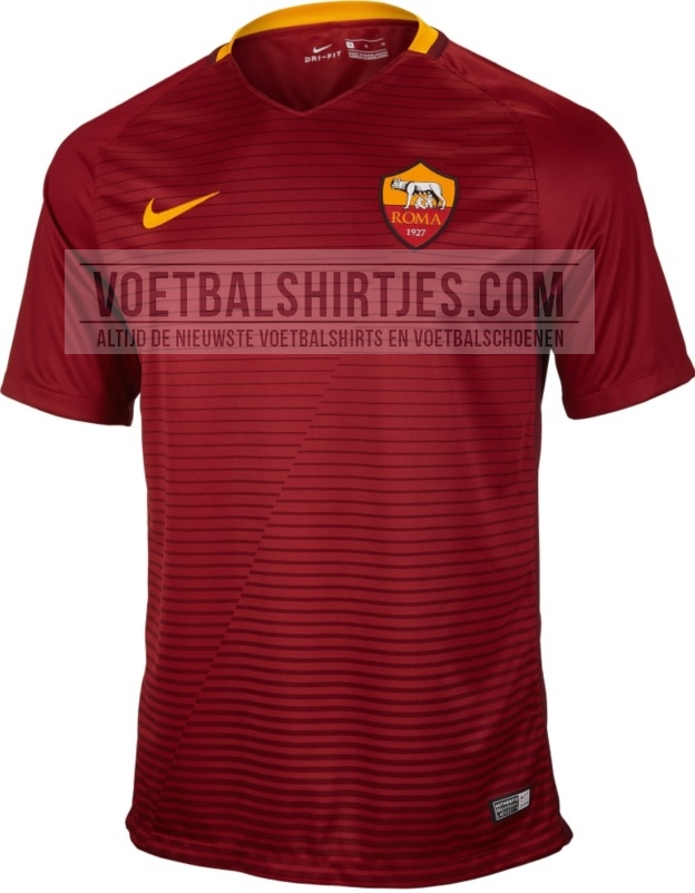 AS Roma thuisshirt 2017