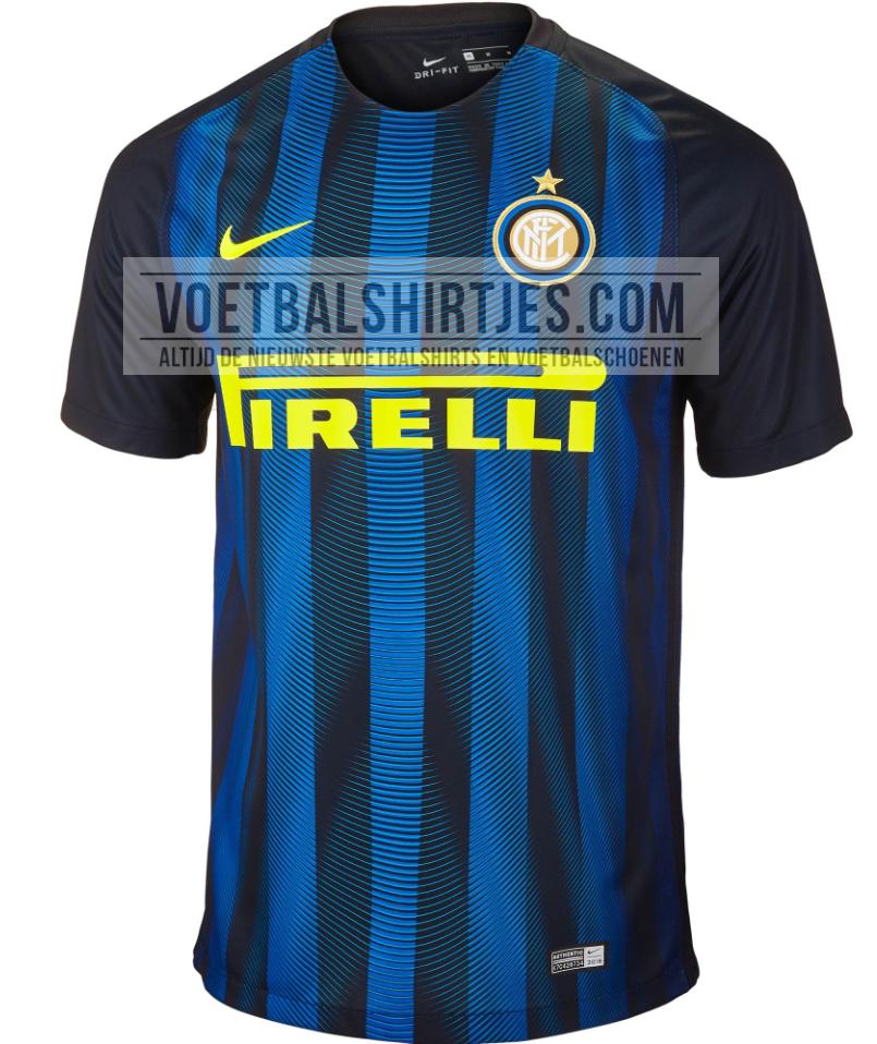 Inter thuisshirt 2017