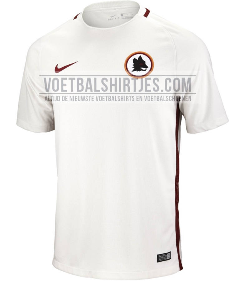 as roma uitshirt 2017