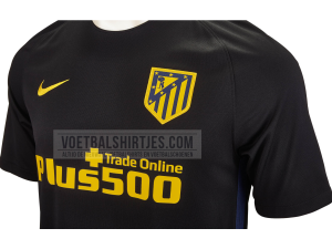 atletico madrid uitshirt 16 17