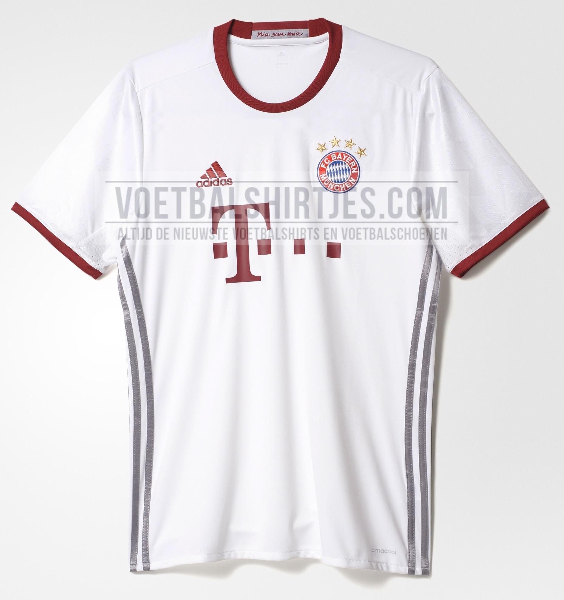 Bayern Munchen 3rd kit 2017