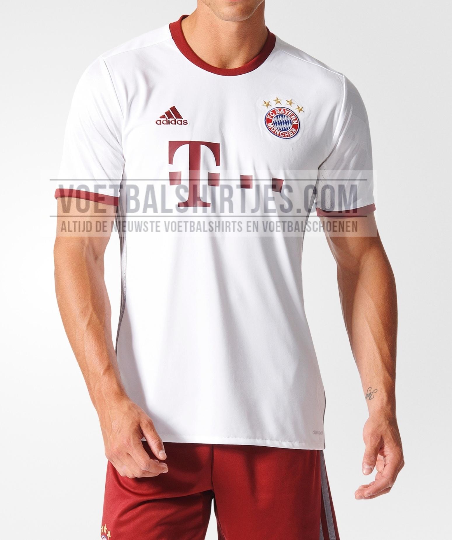 Bayern Munchen champions League shirt 2017