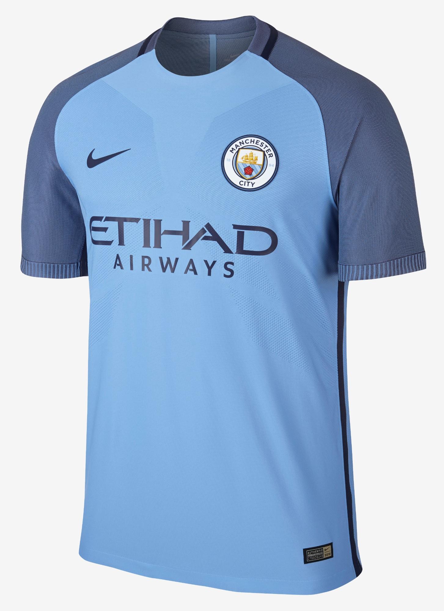 Manchester City shirt 2017