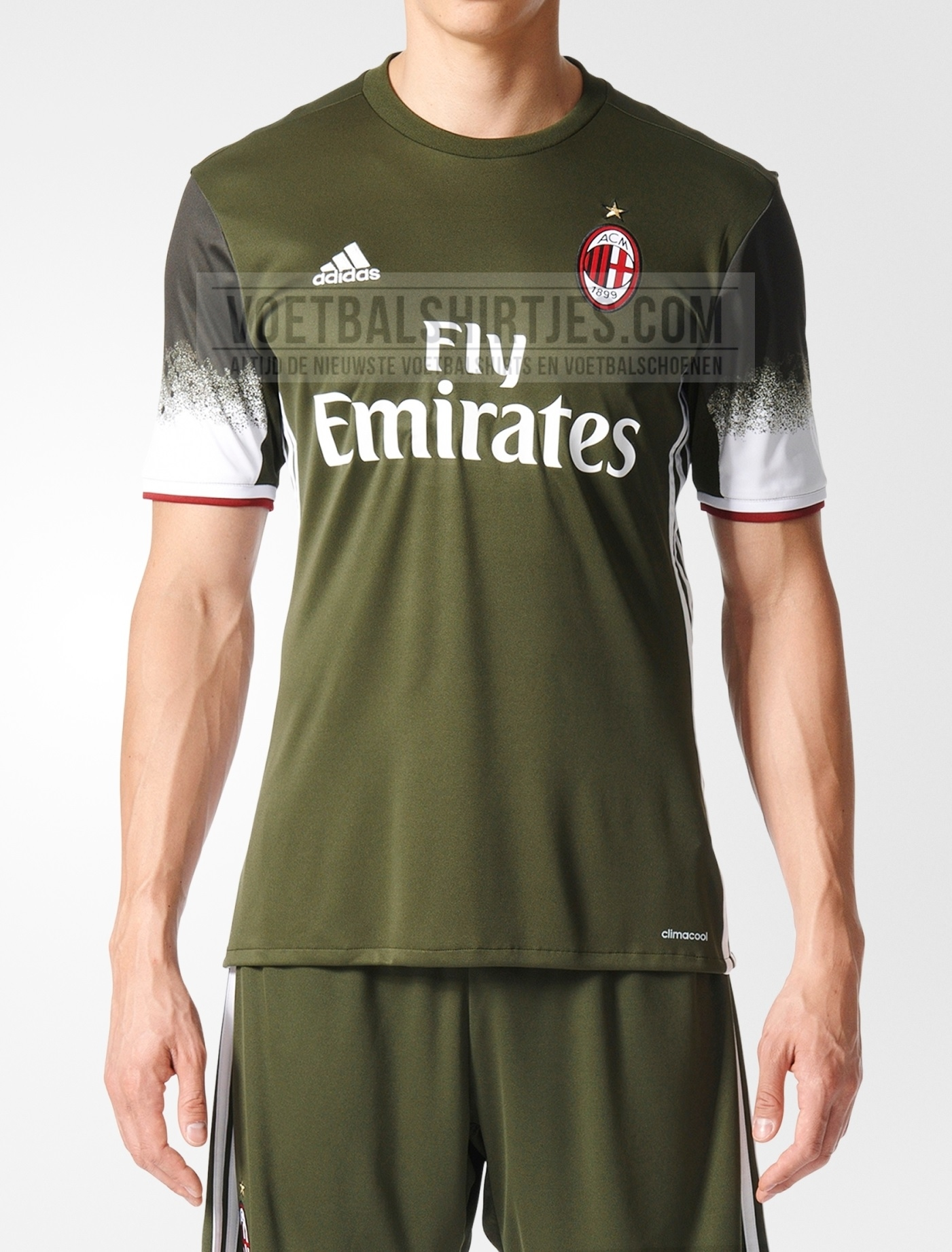 ac milan third kit 2017