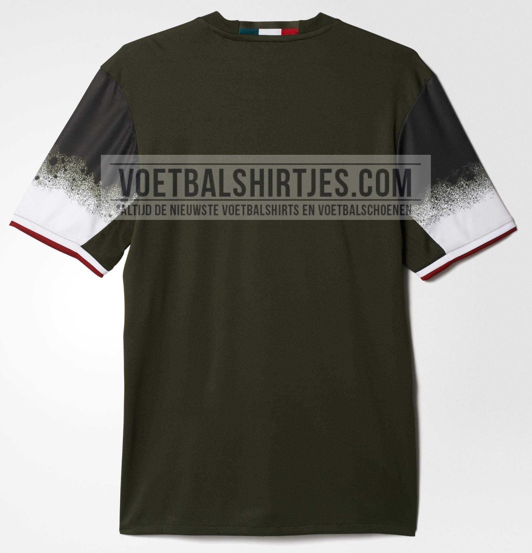 ac milan third shirt 2017