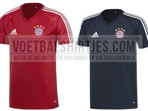 Bayern Munchen trainingsshirts 2017-18