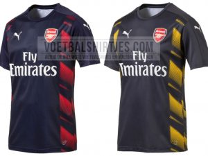 Arsenal 2017 pre match tops