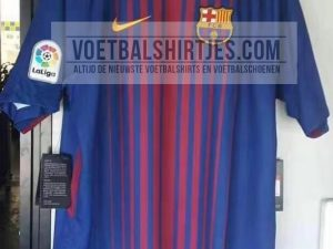 Barcelona 17-18 home kit